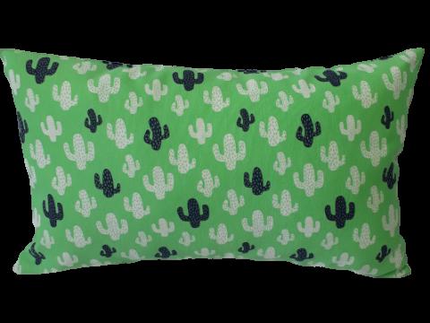 Funda cojín decorativo Cactus verde